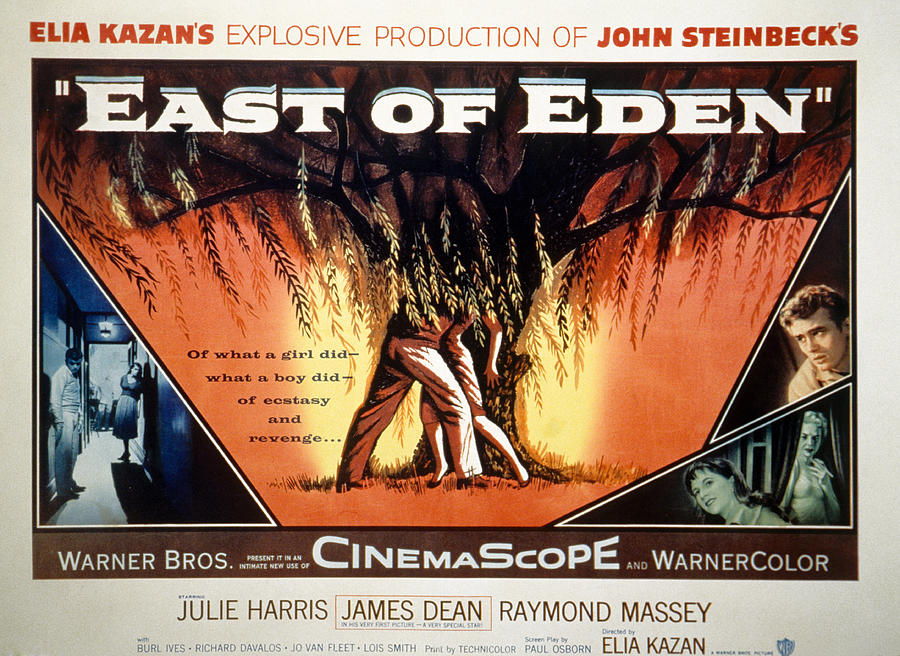 East Of Eden, James Dean, Lois Smith Photograph