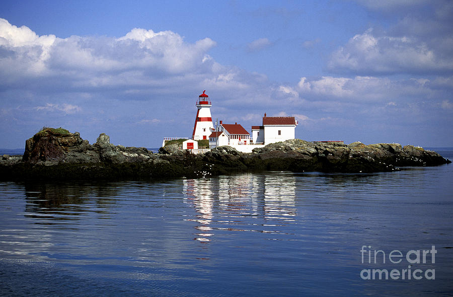 East Quoddy Head Lighthouse Photograph