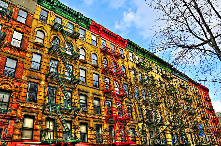 East Village Buildings Photograph  - East Village Buildings Fine Art Print