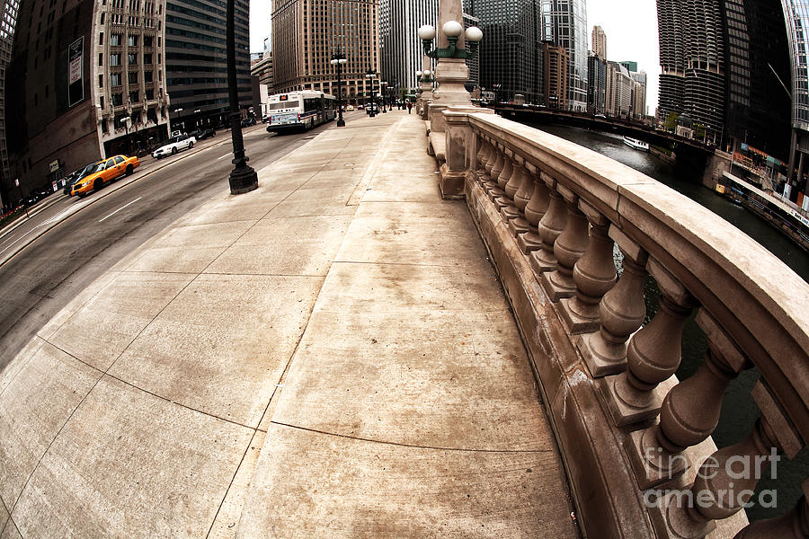 East Wacker Photograph  - East Wacker Fine Art Print