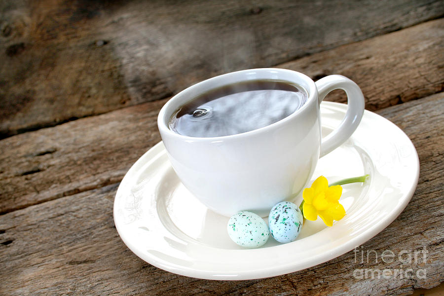 Easter Coffee Photograph