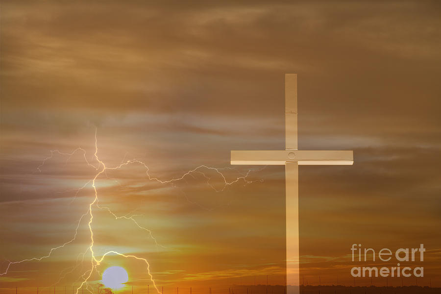 Easter Photograph - Easter Sunrise by James BO  Insogna