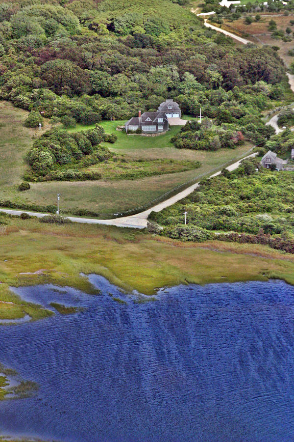 Eat Fire Spring Road Polpis Nantucket Island  Photograph