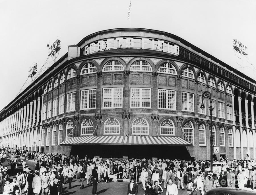 Ebbets Field, Brooklyn, Nyc Photograph  - Ebbets Field, Brooklyn, Nyc Fine Art Print