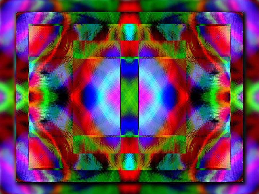 Echo 10 Digital Art  - Echo 10 Fine Art Print