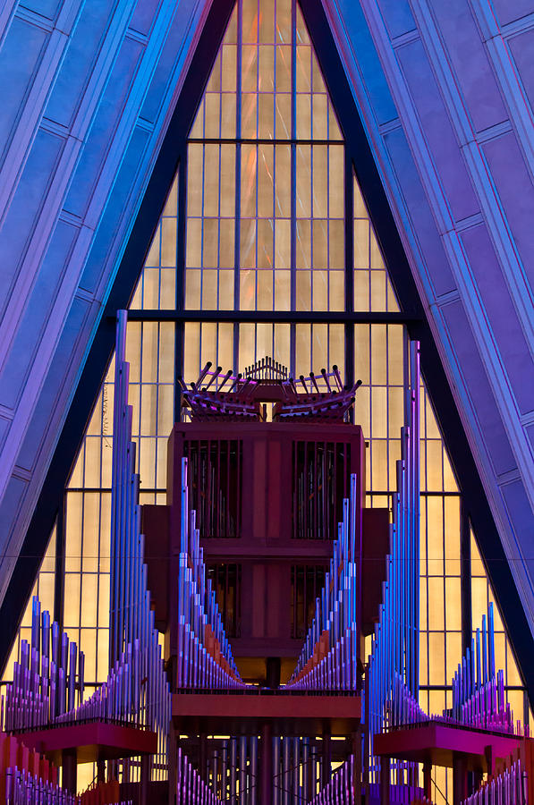 Organ Photograph - Echo Of The Pipes by Colleen Coccia