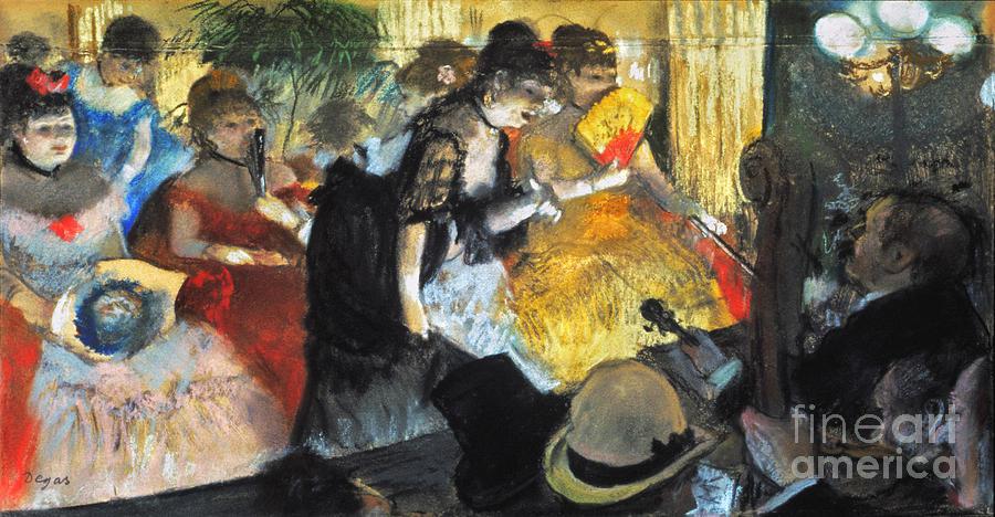 Edgar Degas: Cabaret, 1876 Photograph