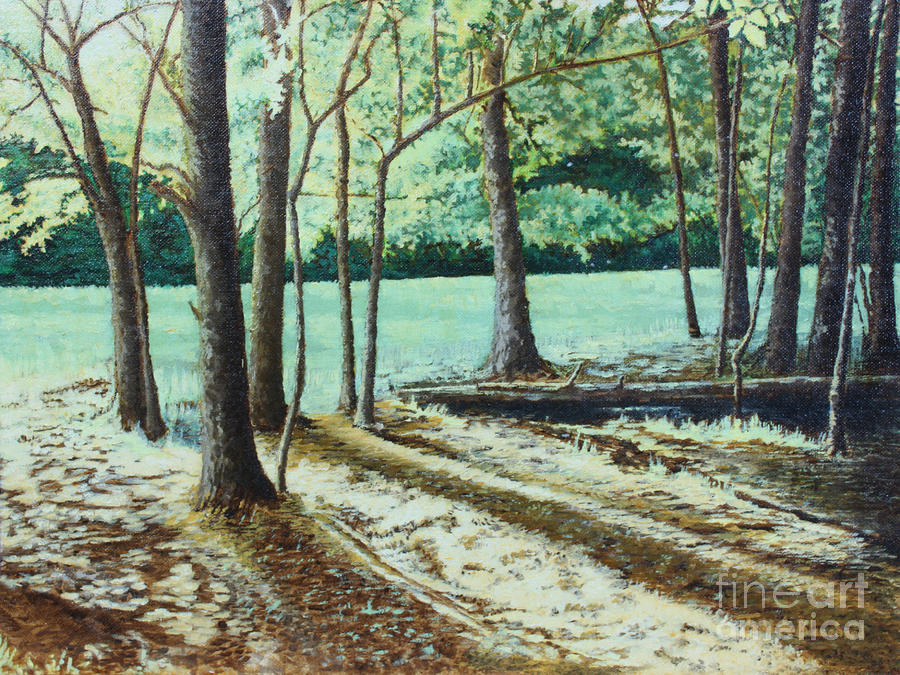 Edge Of The Forest Painting  - Edge Of The Forest Fine Art Print