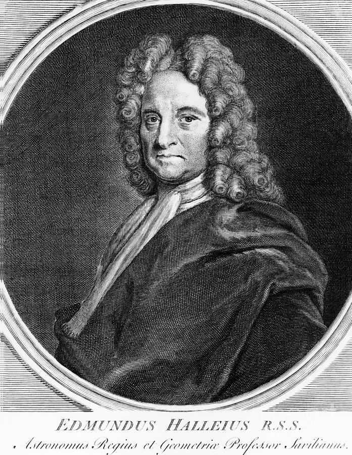 Edmond Halley, English Polymath Photograph