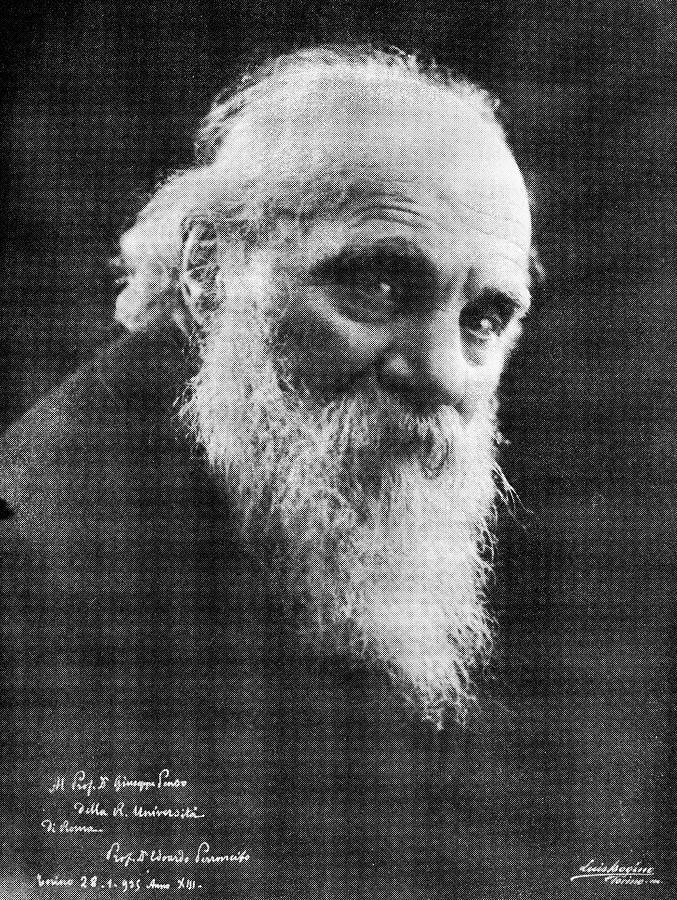 Edoardo Perroncito, Italian Physician Photograph