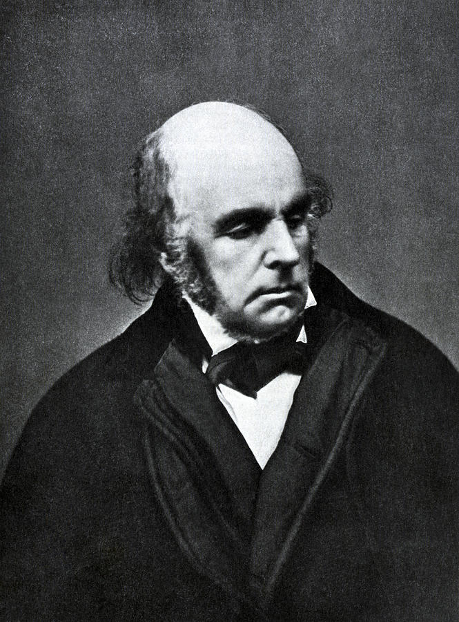 Edward Fitzgerald, English Writer Photograph  - Edward Fitzgerald, English Writer Fine Art Print