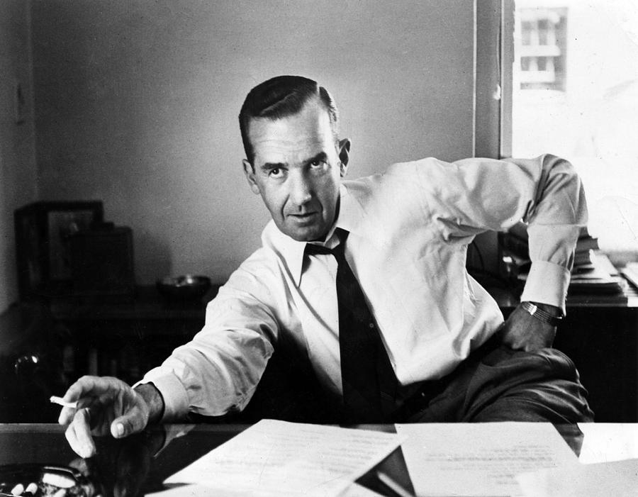 Edward R. Murrow, 1954 Photograph