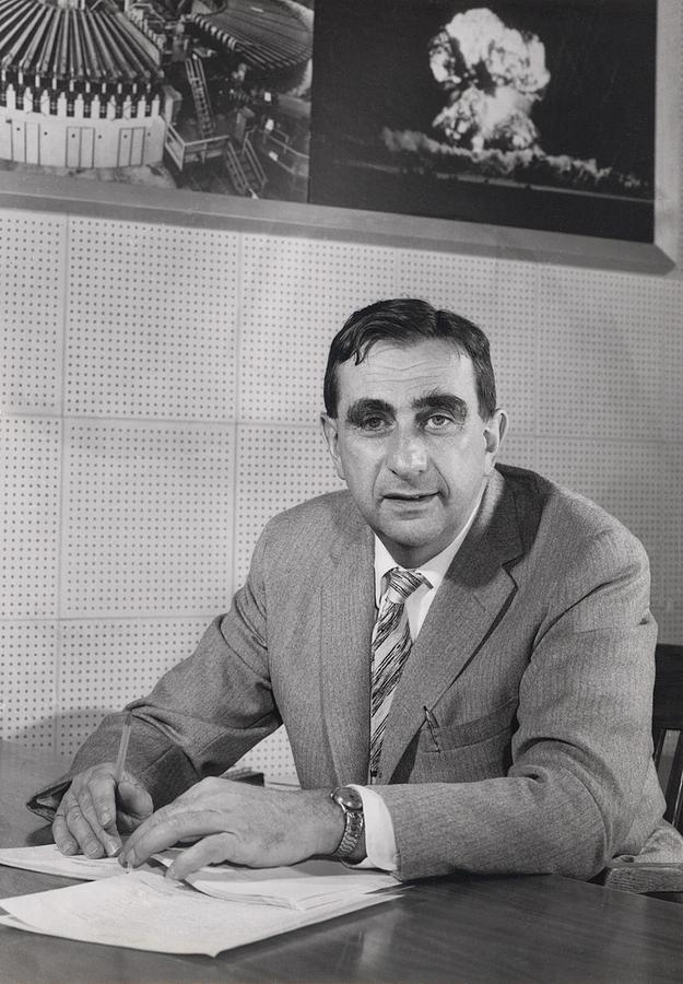 Edward Teller 1908-2003, In 1958 Photograph  - Edward Teller 1908-2003, In 1958 Fine Art Print