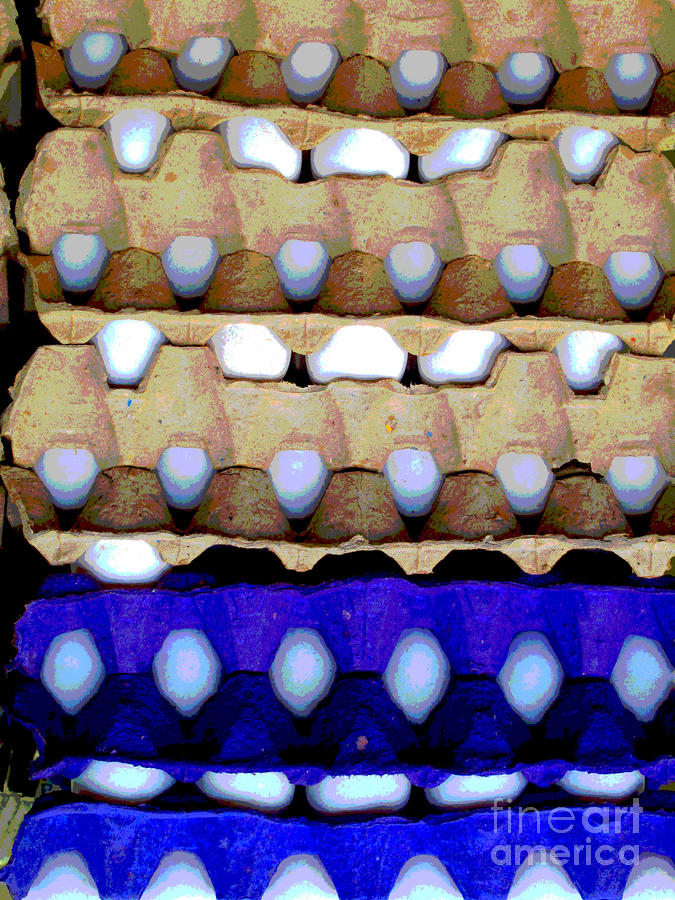 Egg Crates By Darian Day Photograph