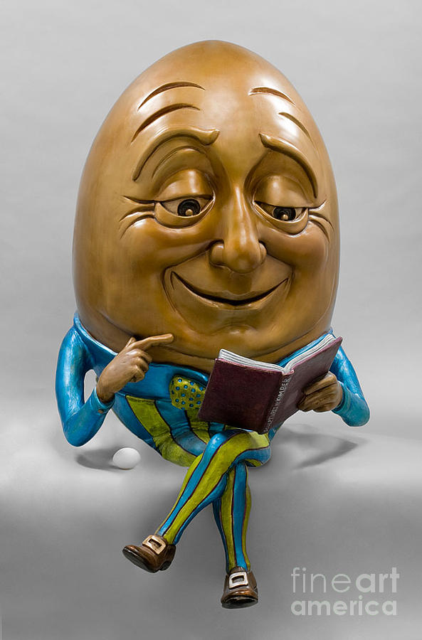 Egghead Sculpture