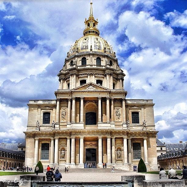 Instagalleries Photograph - Eglise Du Dome Church. Paris, France by ...