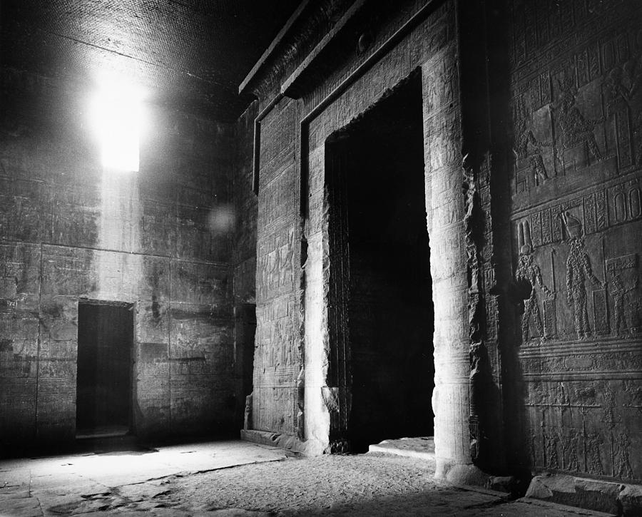 Egypt: Dendera: Temple Photograph  - Egypt: Dendera: Temple Fine Art Print