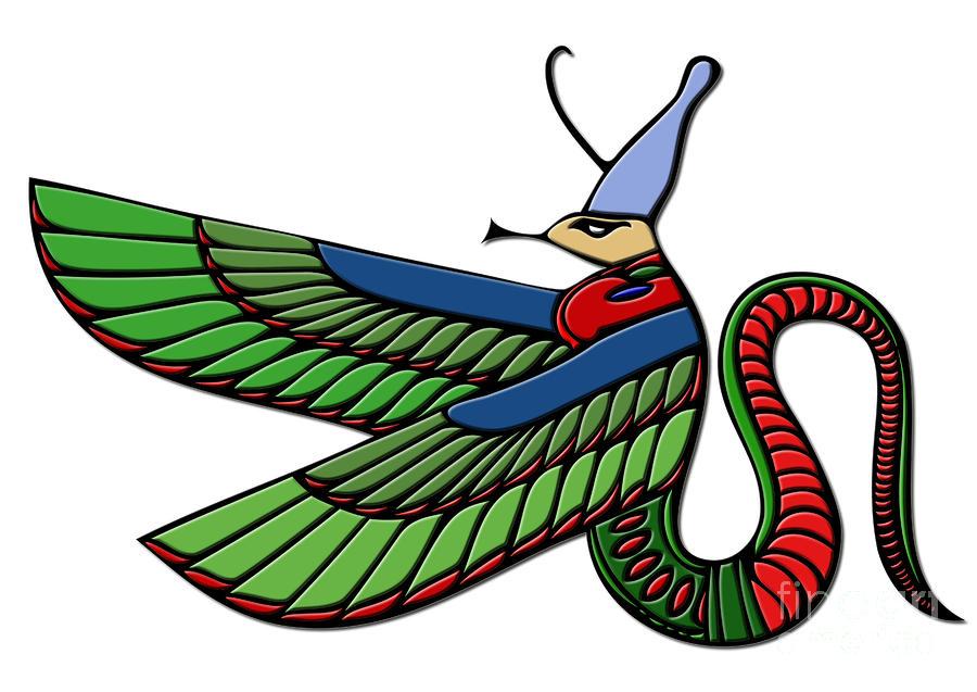Egyptian Demon Digital Art