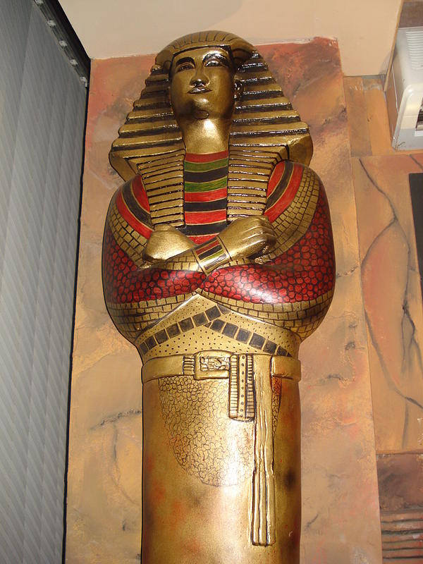 Egyptian Mummy Sculpture
