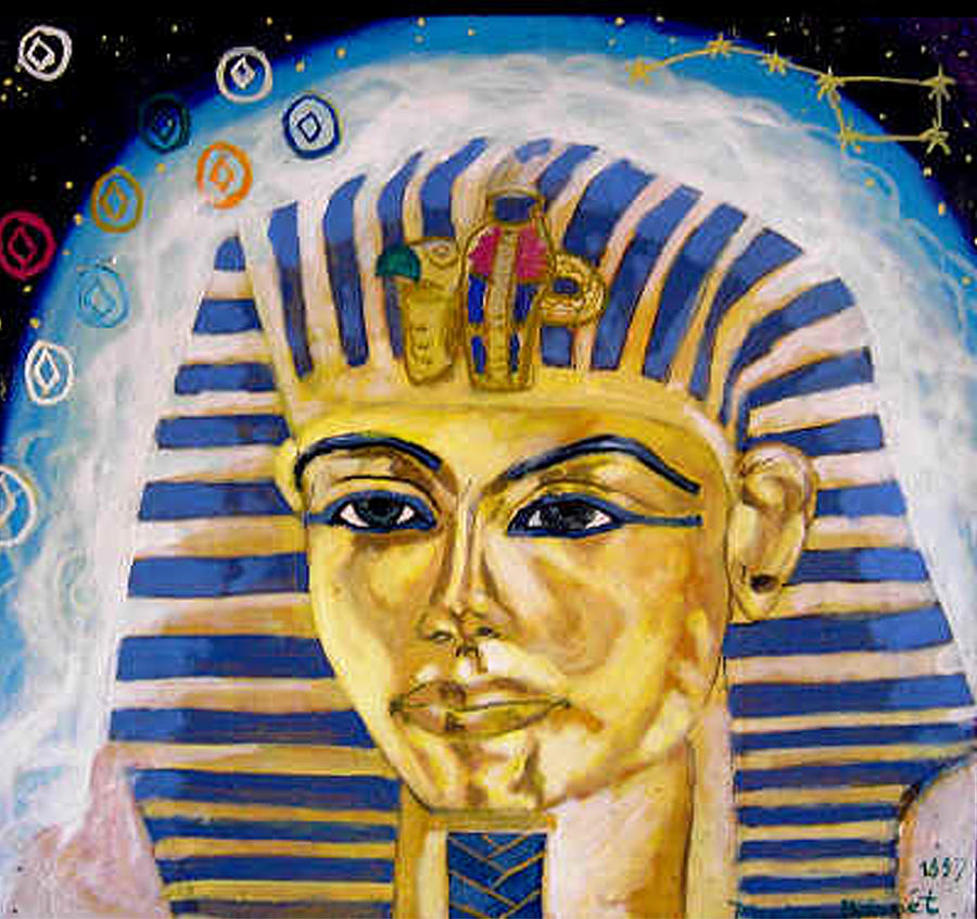 Egyptian Mysteries Painting  - Egyptian Mysteries Fine Art Print