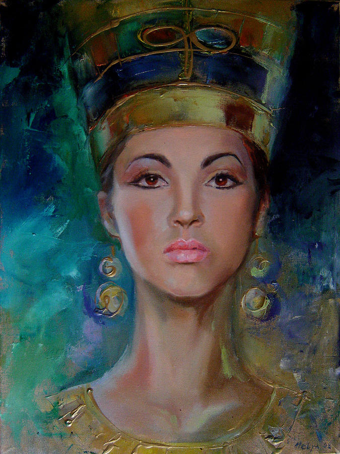 Egyptian Princess Painting