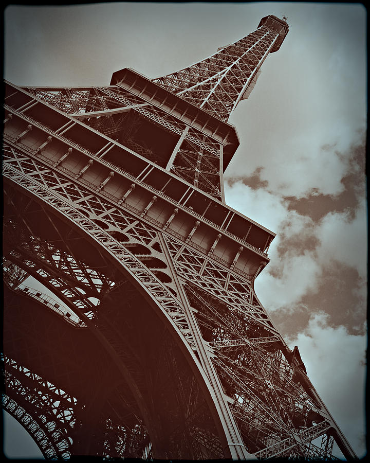 Eiffel Tower Photograph  - Eiffel Tower Fine Art Print