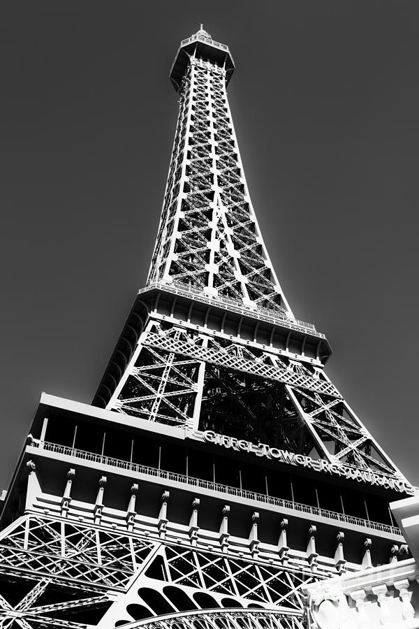 Eiffel Tower Photograph - Eiffel Tower Vegas Style by Leslie Leda