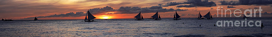 Eight Sailer Photograph  - Eight Sailer Fine Art Print