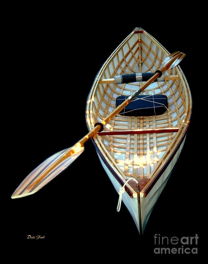 Eileens Canoe Digital Art
