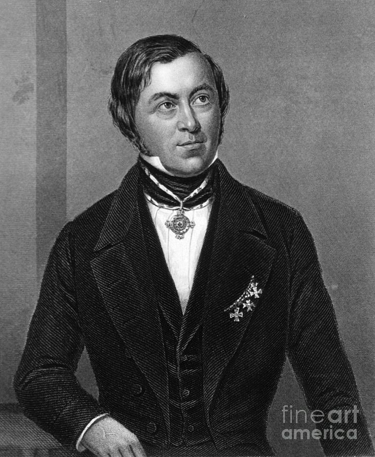 Eilhard Mitscherlich, German Chemist Photograph