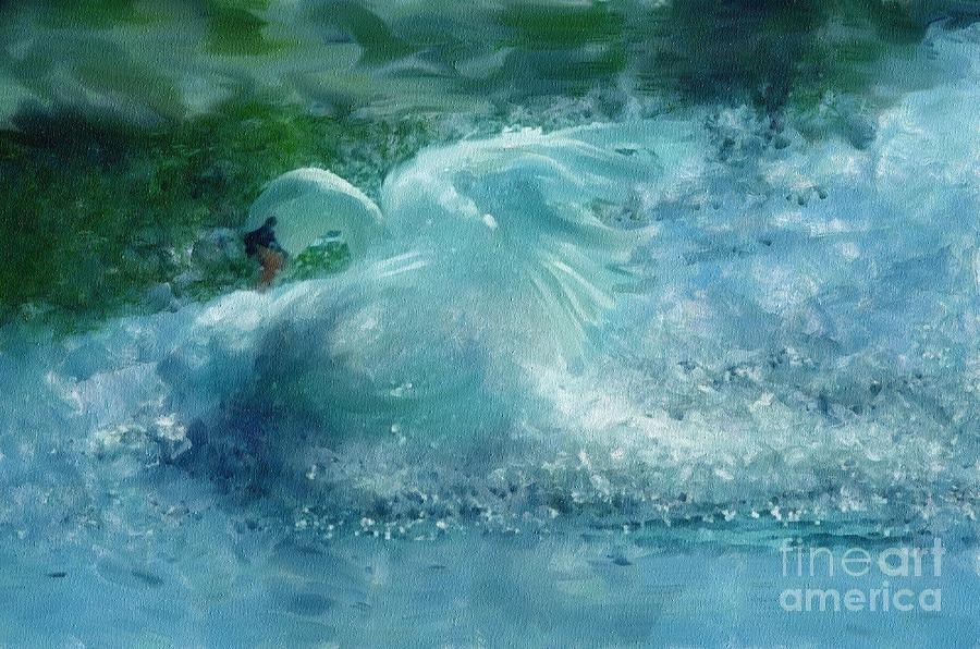 Ein Schwan - The Swan Painting