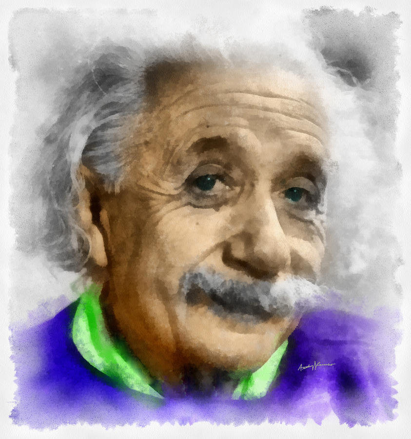 Einstein By Anthony Caruso