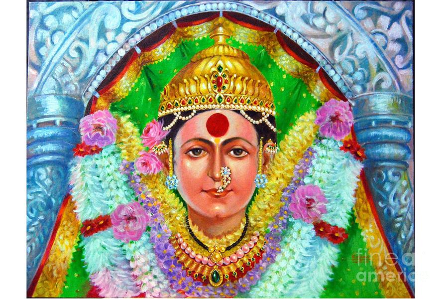 Ekvira Devi Painting