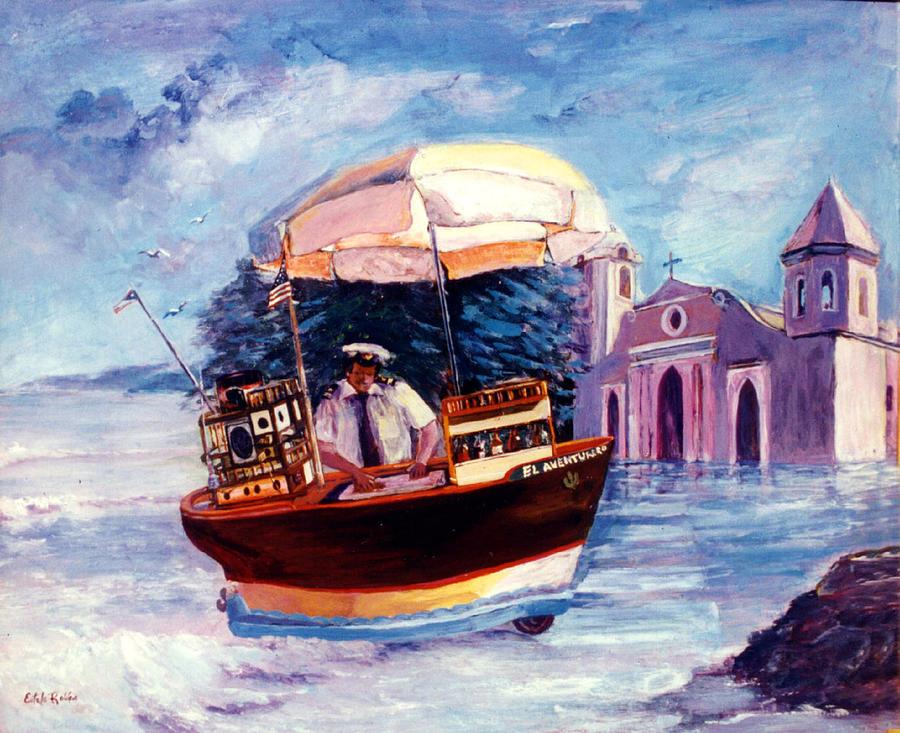 El Aventurero Painting