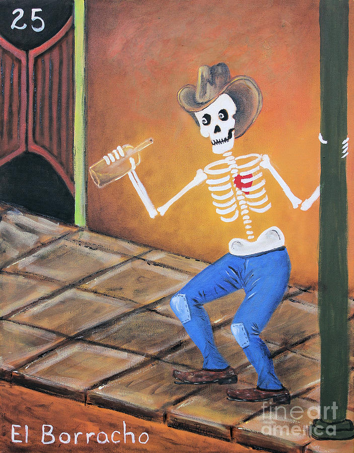 El Borracho Painting
