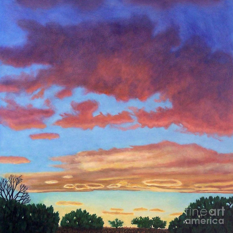 El Dorado Sunset Painting  - El Dorado Sunset Fine Art Print