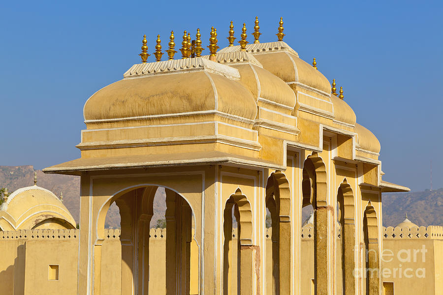 Elaborate Arch Structures In India Photograph