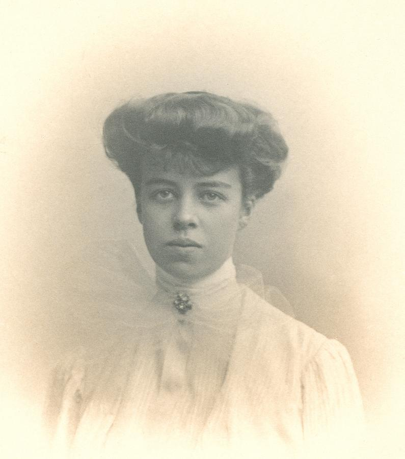 Eleanor Roosevelts Coming Out Portrait Photograph