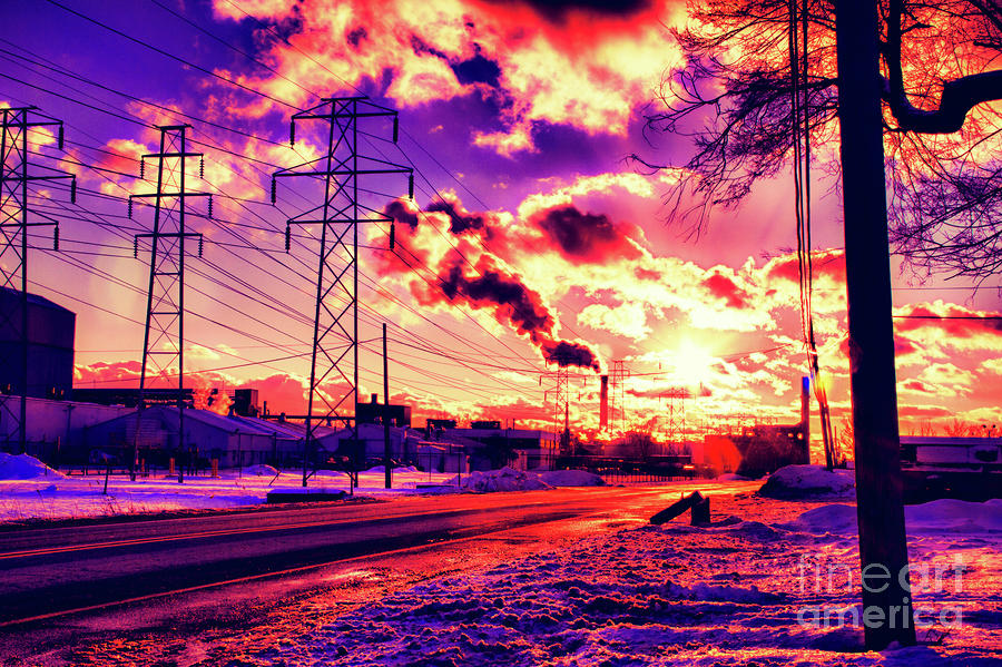 Electric Skies Photograph  - Electric Skies Fine Art Print