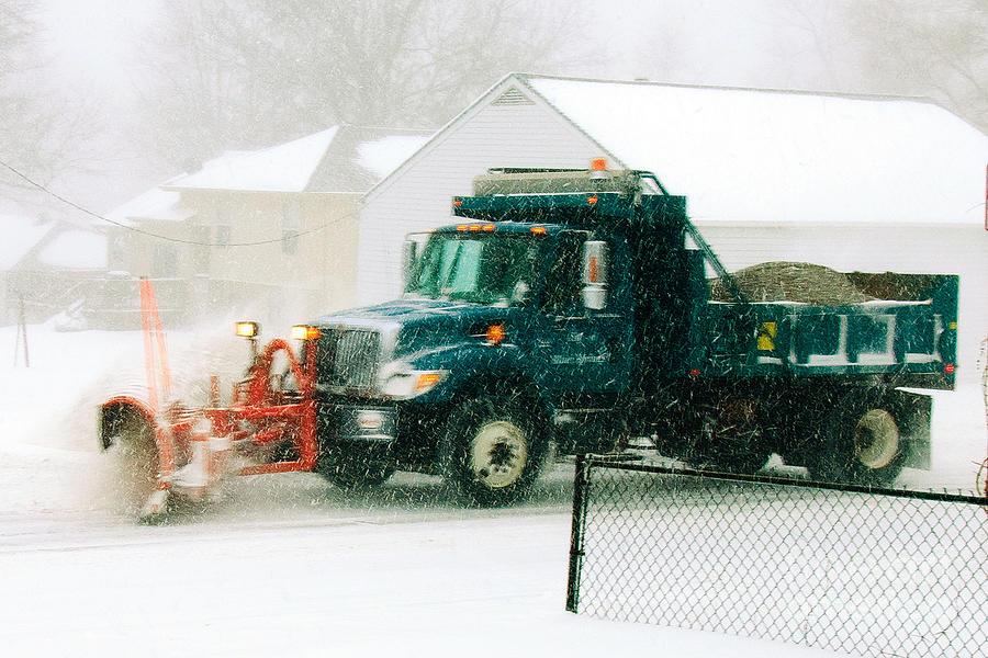 Electric Snow Storm Photograph