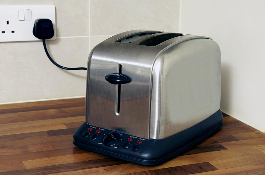 Equipment Photograph - Electric Toaster by Johnny Greig