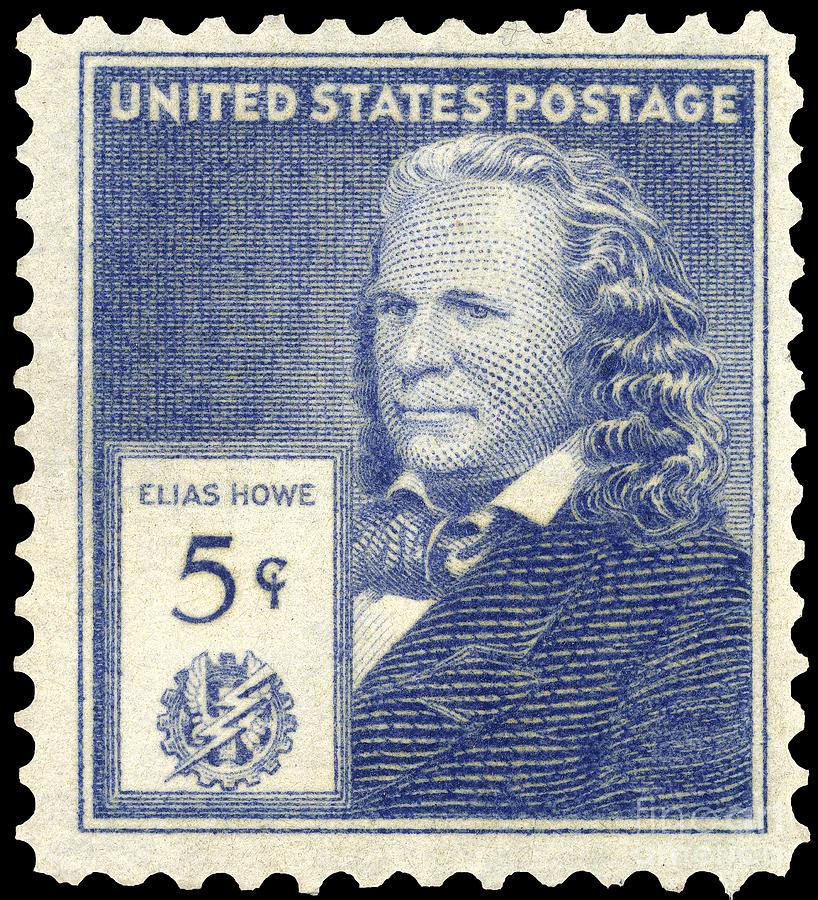Elias Howe (1819-1867) Photograph