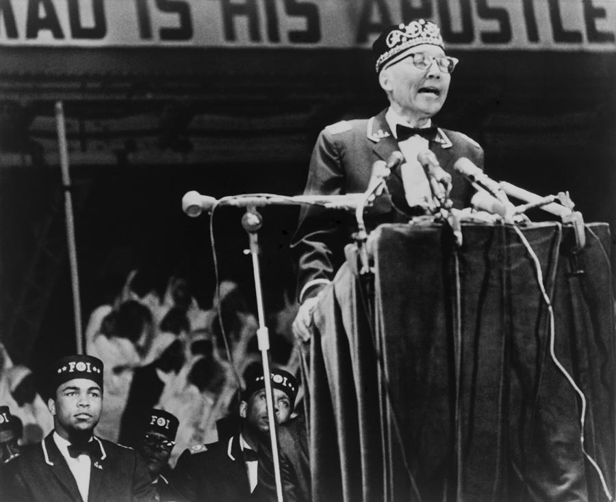 Elijah Muhammad, Leader Of The Black Photograph