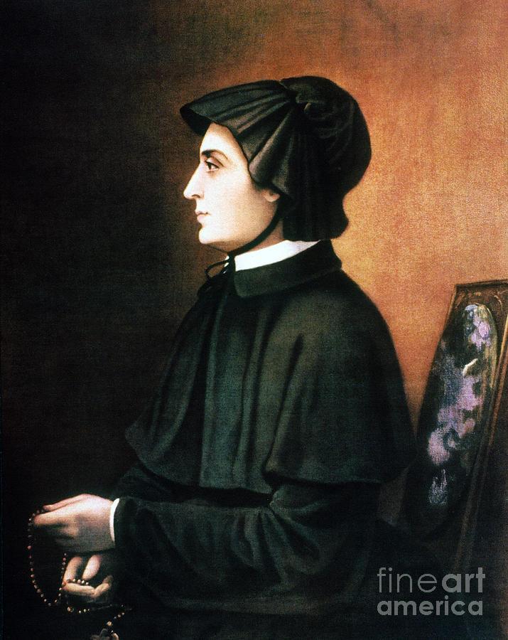 Elizabeth Ann Seton Painting