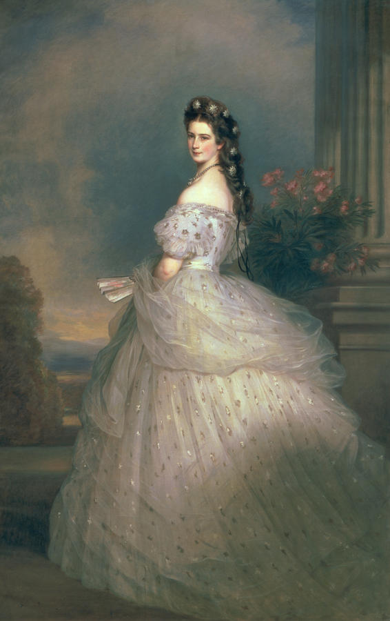 Elizabeth Of Bavaria Painting