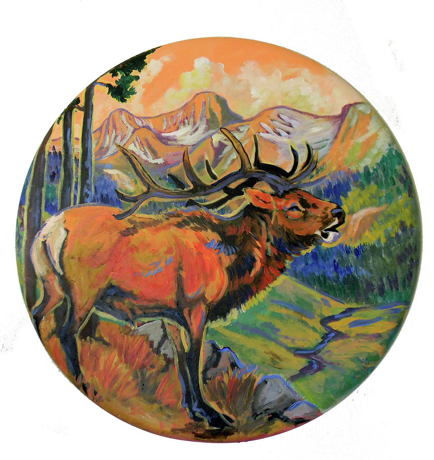 Elk Valley  Painting  - Elk Valley  Fine Art Print