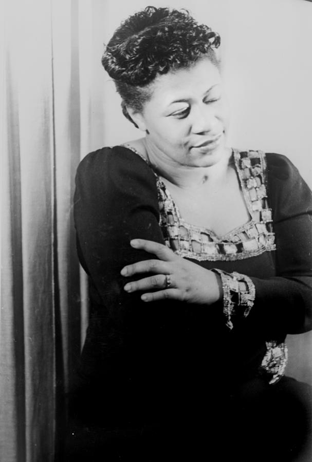 Ella Fitzgerald, Portrait By Carl Van Photograph  - Ella Fitzgerald, Portrait By Carl Van Fine Art Print