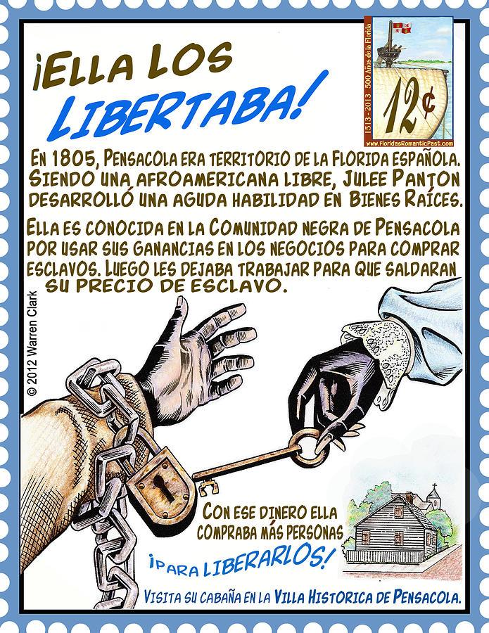 Ella Los Libertaba Mixed Media