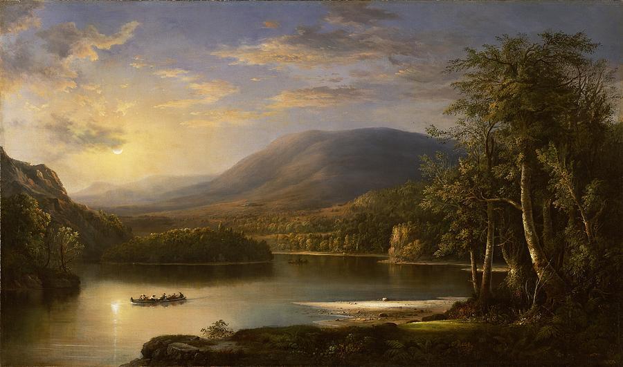 Ellens Isle - Loch Katrine Painting