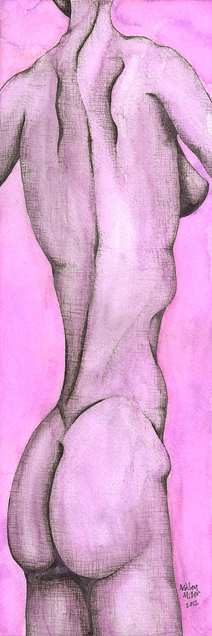 Elongated Female Figure Painting